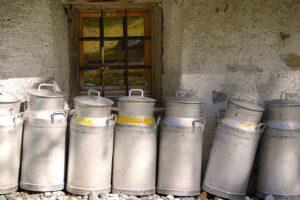 Farmhouse milk jugs