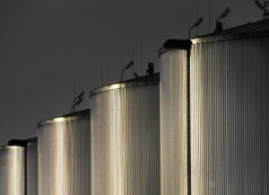 Factory: sugar cane and beet molasses