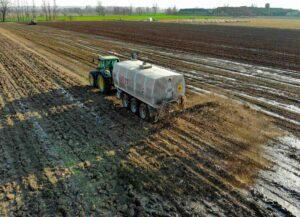 Gene resistance to antibiotics in dairy cattle manure